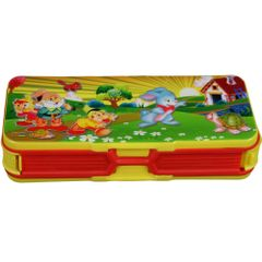 Myesha Home 2 Way Compartment Pencil Box Multi Color