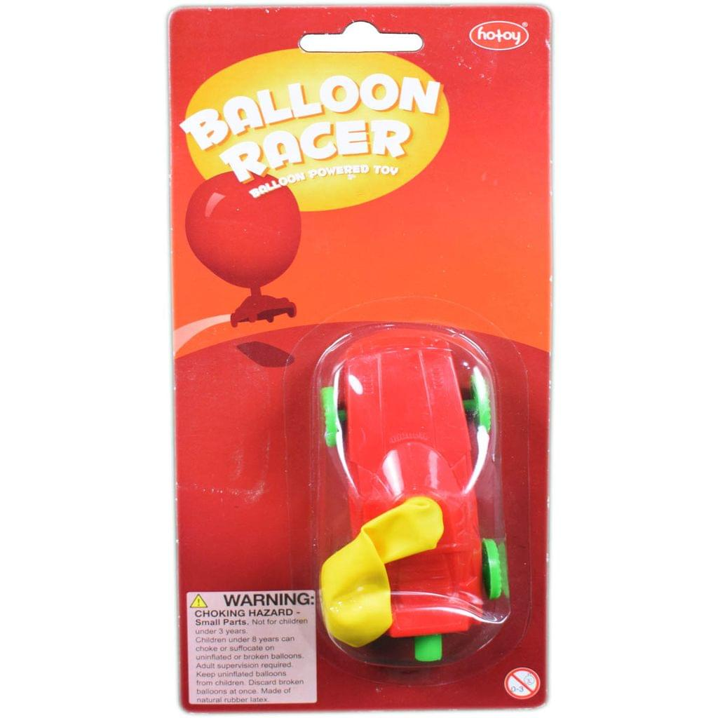 Hotoy Balloon Racer, Multi Color And Styles May Vary