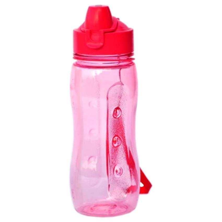 Varmora Sporty Flip Top 500 ml Bottle, Pink Color