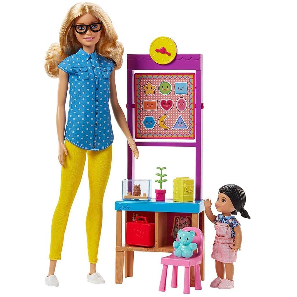 Barbie Career Teacher Playset, Multi Color