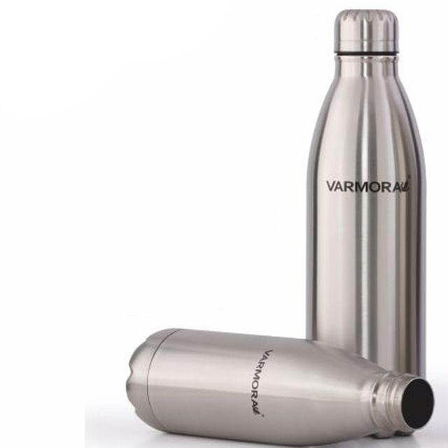 Varmora Silky Hot & Cold Stainless Steel Water Bottle (1 Ltr)