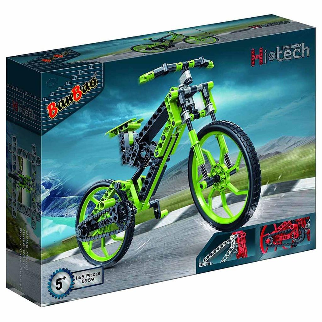 Banbao Building Blocks Hi-Tech Bicycle, Multi Color
