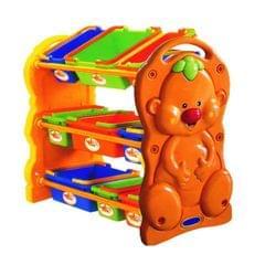 Little Finger Toy Shelf, Multi Color
