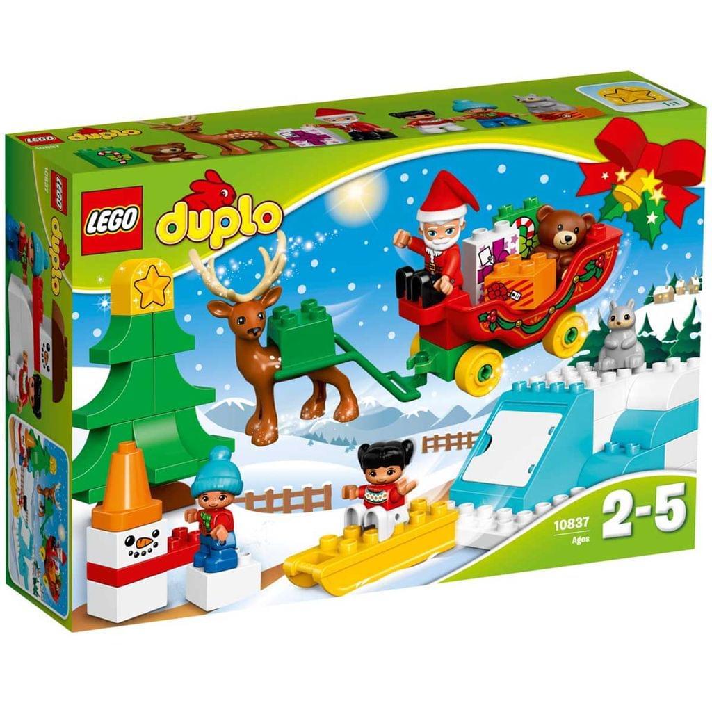 Lego Duplo Santa's Winter Holiday, No 10837
