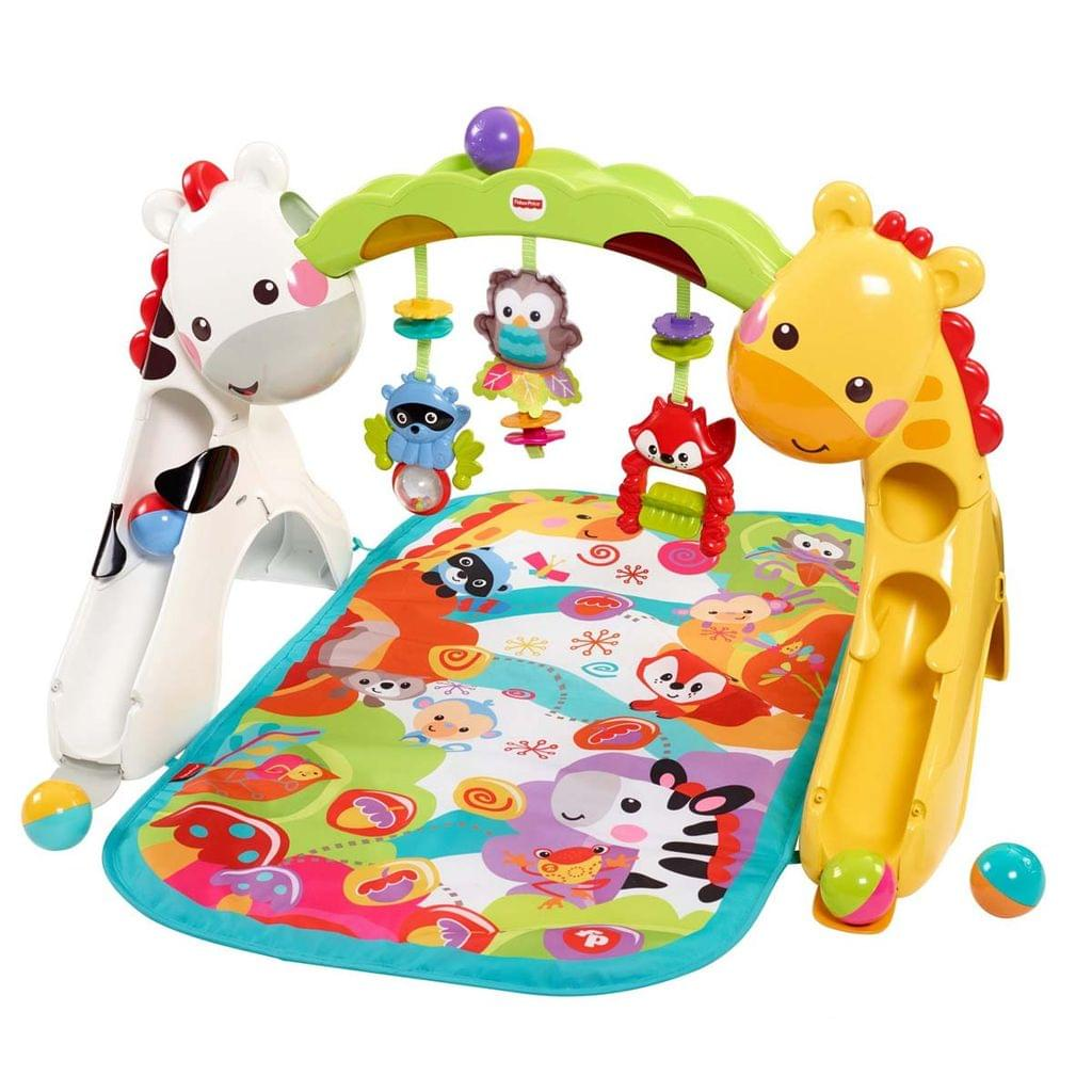 Fisher Price Newborn to Toddler Play Gym, Multi Color