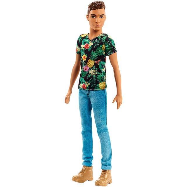 Barbie Fashionistas Ken Doll 15, Multi Color
