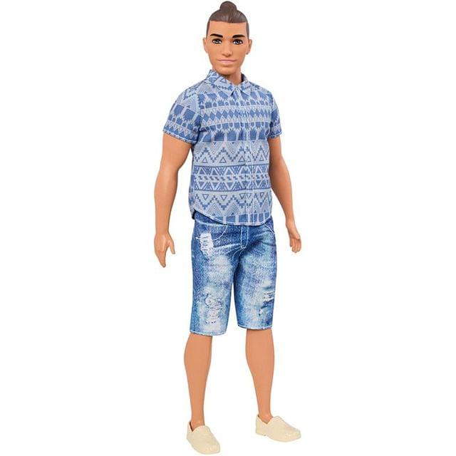 Barbie Fashionistas Ken Doll 13, Multi Color