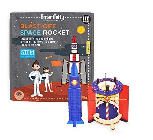 Smartivity Blast Off Space Rocket, Multi Color