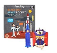 Smartivity Blast Off Space Rocket, Multi Color