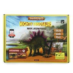 Smartivity Edge Mighty Dinosaurs Magic Jigsaw Puzzle, Multi Color