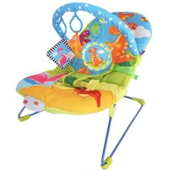 LuvLap Little Dino Baby Bouncer, Multi Color