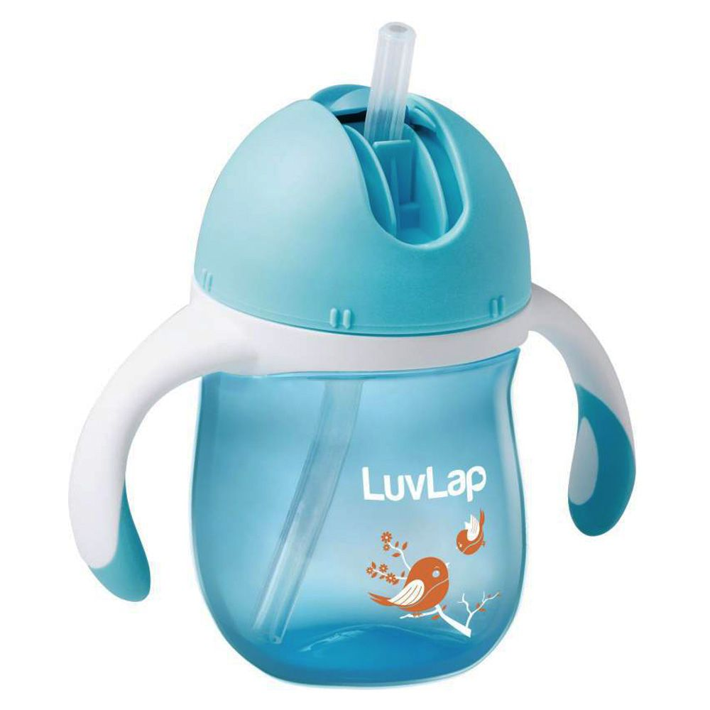 LuvLap Birdie Sipper 160ML, Blue Color