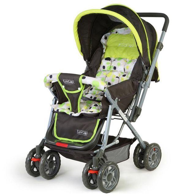 LuvLap Sunshine Baby Stroller, Green