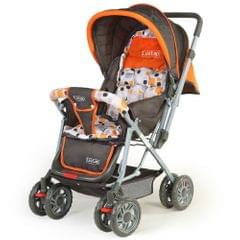 LuvLap Sunshine Baby Stroller, Orange