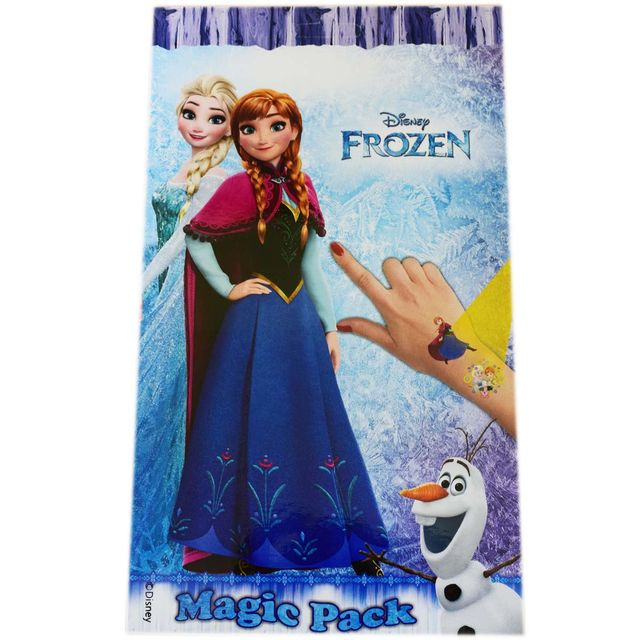 Topps Disney Frozen Magic Sticker Pack Collections
