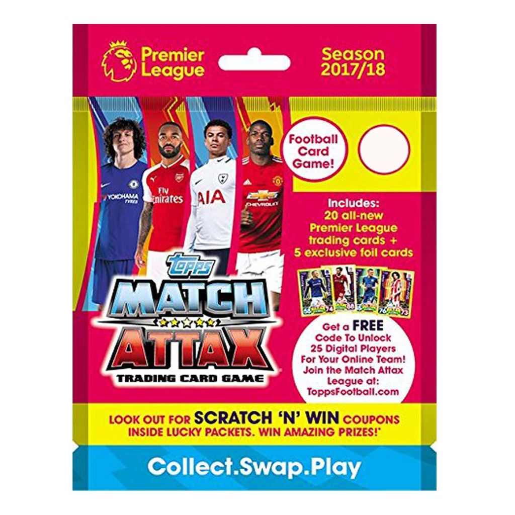 Topps Match Attax -PLMA 17-18 TCG collection, Multi Color