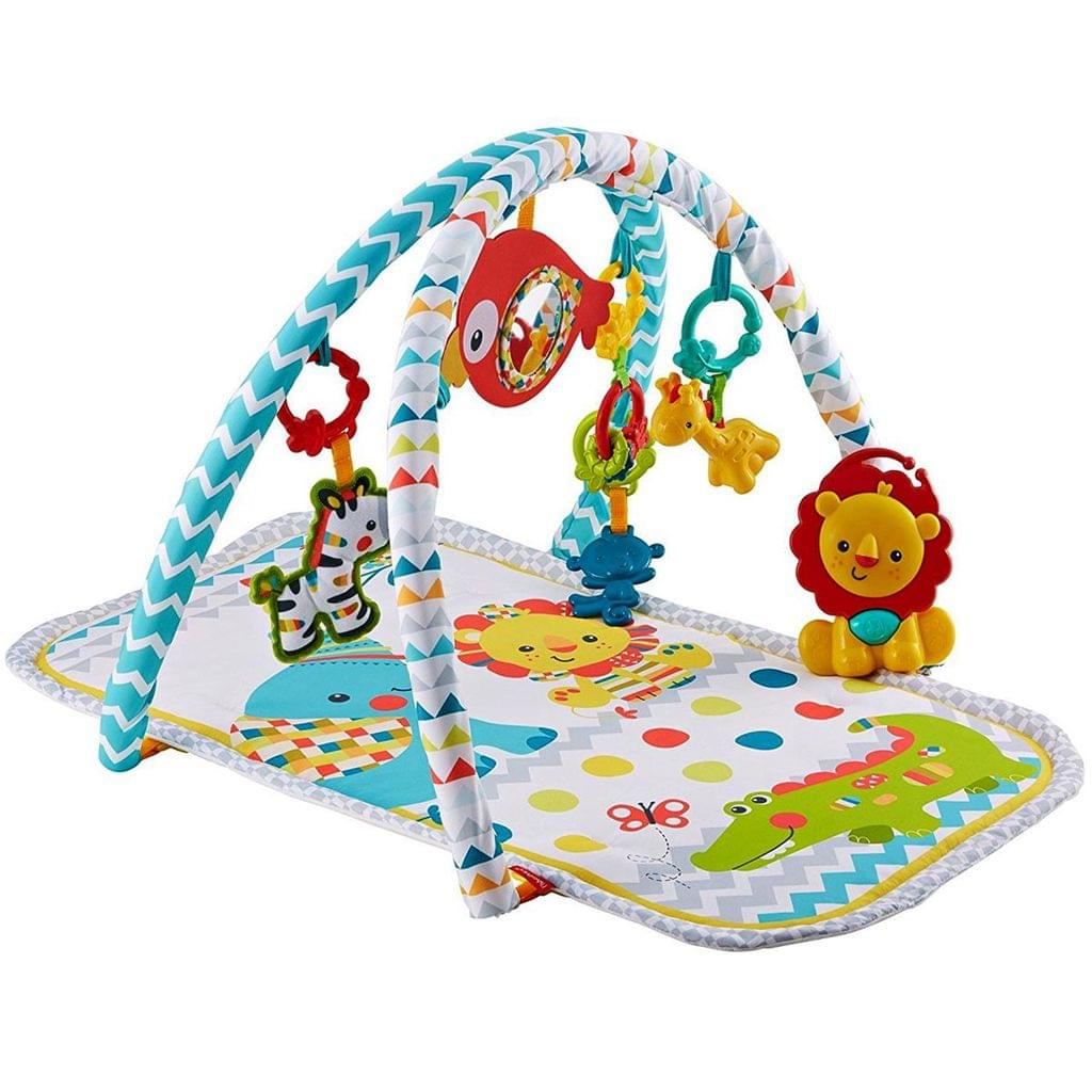 Fisher Price Colourful Carnival 3 in 1 Musical Activity Gym, Multi Color