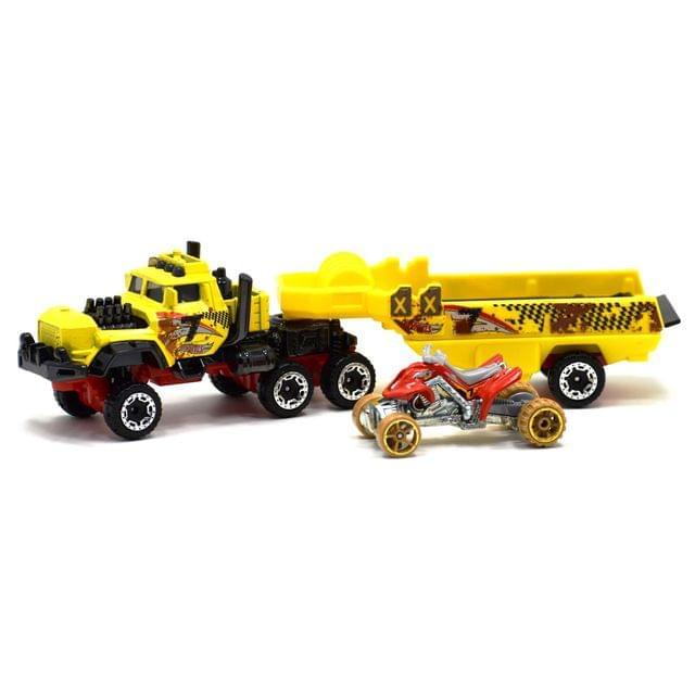 Hot Wheels Super Rig Haulin Horsepower, Multi Color