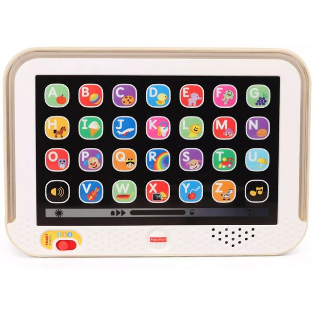 Fisher Price Laugh and Learn Smart Stages Tablet, White Color