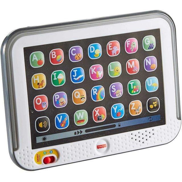 Fisher Price Laugh and Learn Smart Stages Tablet, Gray Color
