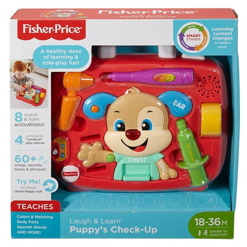 Fisher Price Laugh & Learn Puppy's Check-Up, Multi Color