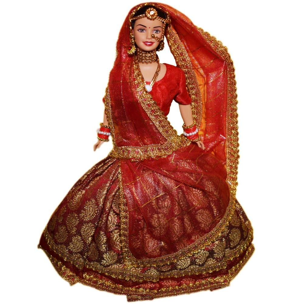 Barbie Wedding Fantasy 12 Inch Barbie Doll, Red Color