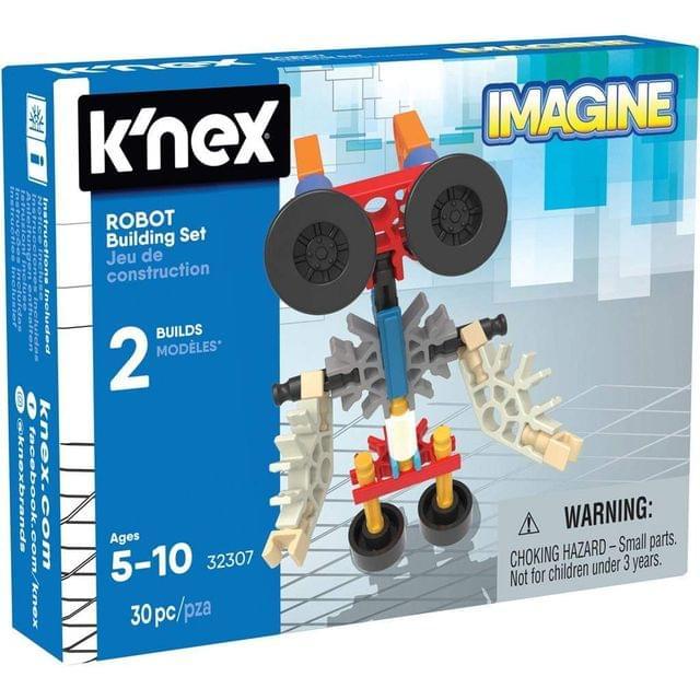 K'nex Imagine Kid Robot Building Set, Multi Color