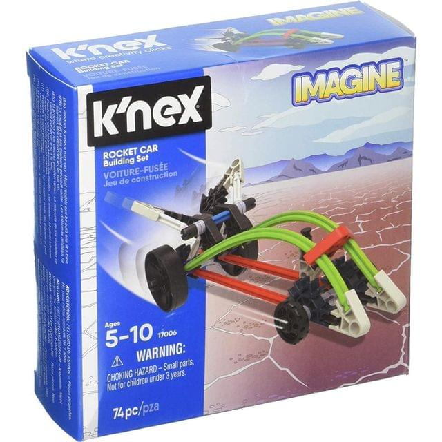 K'Nex Imagine Rocket Car Building Set, Multi Color