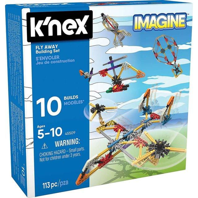 K'Nex Imagine Fly Away Building Set, Multi Color