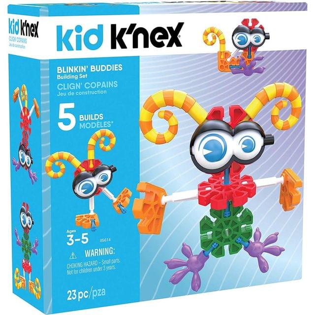 Kid K'nex Blinkin Buddies Building Set, Multi Color