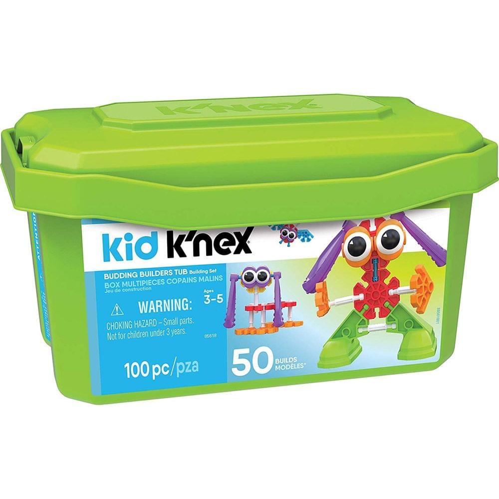 Kid K'nex Budding Builders Tub Building Set, Multi Color