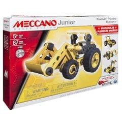 Meccano Junior 4 In 1 Truckin Tractor, Multi Color