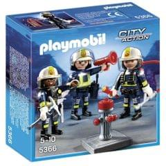 Playmobil Fire Rescue Crew, Multi Color