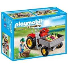 Playmobil Harvesting Tractor, Multi Color