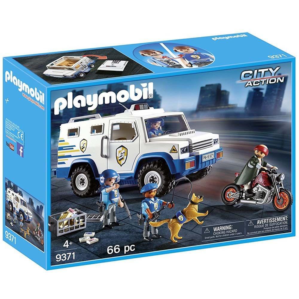 Playmobil Police Money Transporter, Multi Color