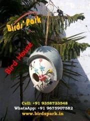 "Bird House ""Good for LoveBirds, Finch, Sparrow & Budgerigars"" - we ship BY-AIR"