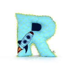 Alphabet Cushion R