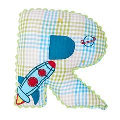 Alphabet Cushion R-ROCKET NEW