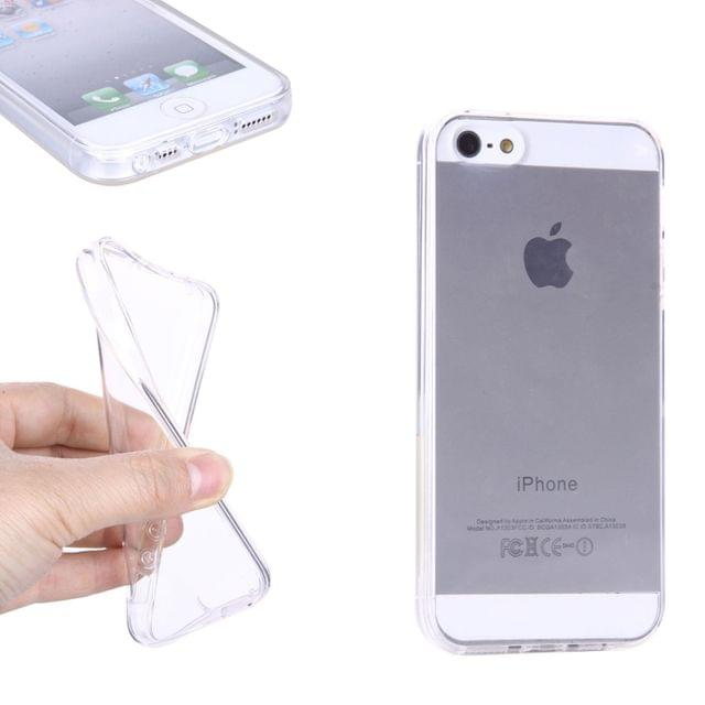 low priced 0c17a a9fde Apple Iphone 5s Imported Transparent Clear Silicone Jelly Soft Case ...
