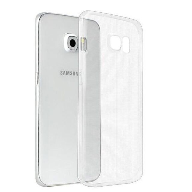 Samsung Galaxy S7  Perfect Fitting High Quality 0.3mm Ultra Thin Transparent Silicon Back Cover