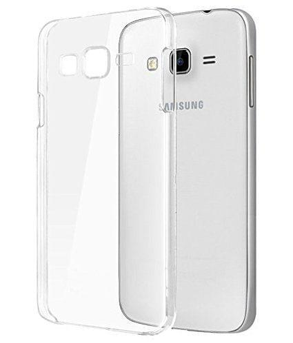 Samsung Galaxy On5 Pro / On5 Premium Transparent clear white Silicon Flexible Soft TPU Slim Back Case Cover