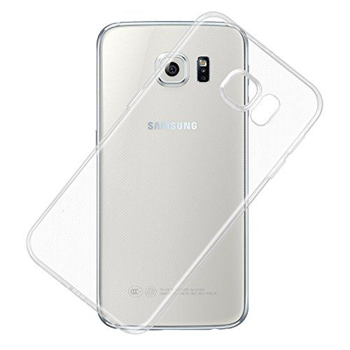 Samsung Gaalaxy S6 Edge Plus Ultra Thin Soft Silicon TPU Flexible Back Case Cover