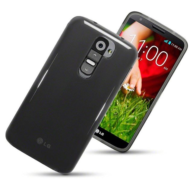 LG G2 Perfect Fitting High Quality 0.3mm Ultra Thin Transparent Silicon Back Cover