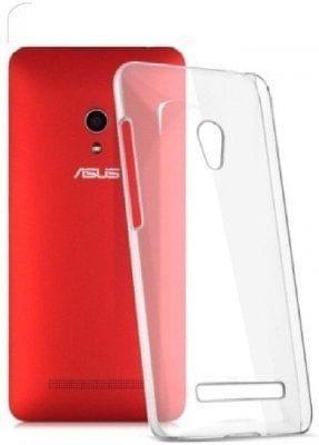 Asus Zenfone 5  Transparent Soft Ultra Slim Back Cover