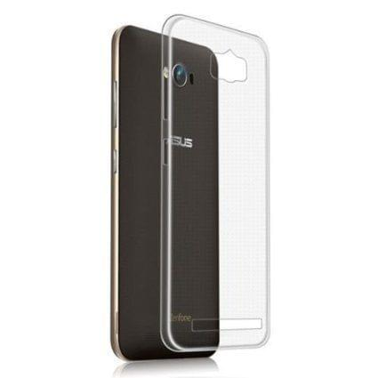 Zenfone Maxx Perfect Fitting High Quality 0.3mm Ultra Thin Transparent Silicon Back Cover