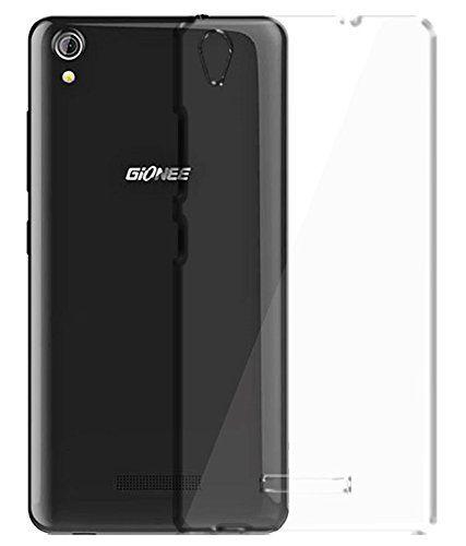 Gionee P5W Premium Ultra Thin Rubber TPU - Newlike Impact [Soft Case] [Back Transparent] Silicon Cover