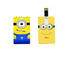 Minions Printed Card Pendrive 8GB