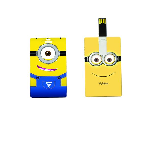 Minions Printed Card Pendrive 8GB