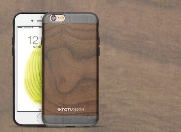 iPhone 6/6s TOTU Fashion Series  -wooden Gery
