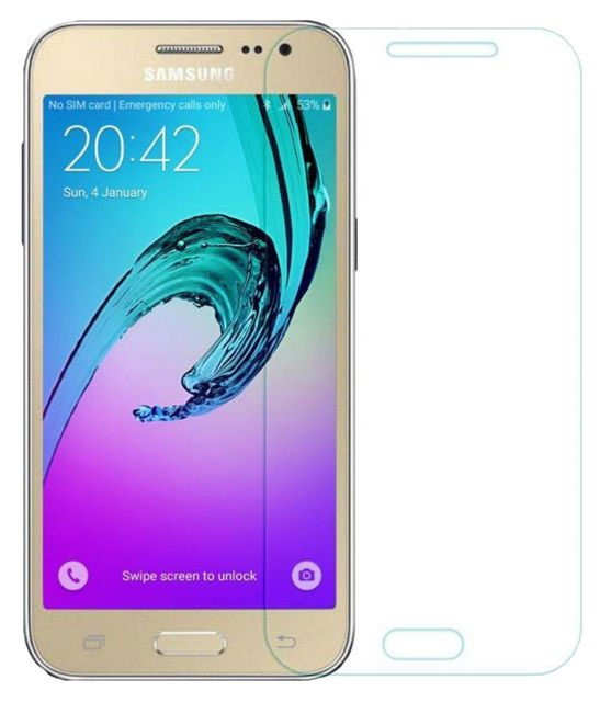 Samsung Galaxy J2  Pro 2016 Edition Tempered Glass Screen Guard